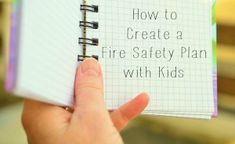 Having a fire safety plan is extremely important, especially for single moms. Even more important is being sure that your child knows it well and feels confident with it.