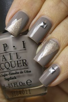 Having short nails is extremely practical. The problem is so many nail art and manicure designs that you'll find online Get Nails, Fancy Nails, Love Nails, How To Do Nails, Pretty Nails, Classy Nails, Nail Art Design Gallery, Best Nail Art Designs, Nail Deco