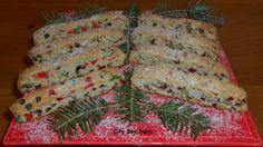 Christmas Biscotti. Yummo!!!