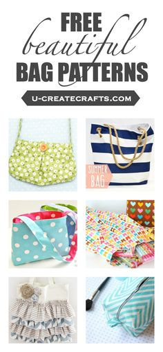 Many free beautiful bag patterns