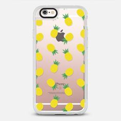 Pineapple Pineapple - protective iPhone 6 phone case in Clear and Clear by Jesscia Patel | Get a pineapple and ready for summer ! >>> https://www.casetify.com/collections/foodie | @Casetify