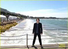 Keanu Reeves attends a photo call for his new film The Man of Tai Chi during the 2013 Cannes Film Festival on Monday (May 20) in Cannes, France.    The day before,…
