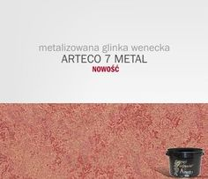 ARTECO 7 METAL - metalizowana glinka wenecka