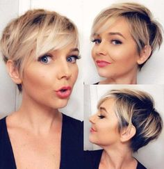 20 Best Short Pixie Cuts for St. Patrick's Day 2019 – Short Pixie Cuts Source by jeweldenise Short Hair Cuts For Women, Girl Short Hair, Short Hairstyles For Women, Easy Hairstyles, Short Cuts, Beautiful Hairstyles, Thin Hair Pixie, Edgy Pixie Cuts, Short Cropped Hair