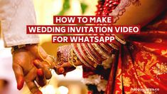 Who said that all Wedding Invitations need to be on paper? It's time to go paperless with Wedding Invitation Video to give your invite an innovative touch. Traditional Wedding Invitations, Indian Wedding Invitations, Engagement Invitations, Unique Wedding Invitations, Diy Invitations, Invites, Destination Wedding Save The Dates, Wedding Planning On A Budget, Save The Date Video