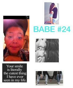 """babe "" by princessiris7 ❤ liked on Polyvore featuring beauty"