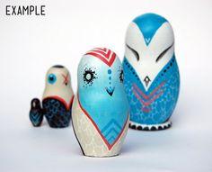 Custom Russian Owls