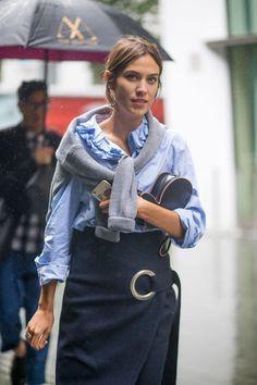 30 London Fashion Week Street Style Snaps To Obsess Over Estilo Fashion, Fashion Mode, Ideias Fashion, Net Fashion, Mode Chic, Mode Style, Street Style Looks, Looks Style, London Fashion Week 2015