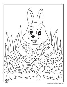 Easter Hidden Pictures Printable Activity Pages Easter Activities For Kids, Printable Activities For Kids, Fun Worksheets, Hidden Picture Puzzles, Minecraft Beads, Sudoku, Critical Thinking Activities, I Spy Games, Preschool Writing