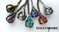 Crystal Ball and Claw Necklaces by Ideationox.deviantart.com on @deviantART