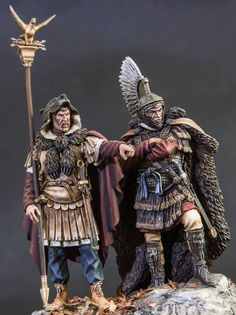 from Masterclass Figures on facebook Sparta Warrior, Greek Warrior, Military Figures, Military Diorama, Ancient Rome, Ancient History, Roman Era, Roman Sculpture, Roman Soldiers