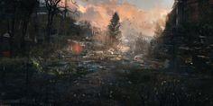 ArtStation - Sundown - (August work), Wadim Kashin