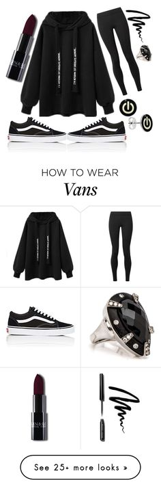 """Chillin'"" by fashion-freak-julia on Polyvore featuring The Row, Vans and Bobbi Brown Cosmetics"