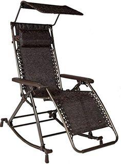 Bliss Hammocks Zero Gravity Patio Chair U0026 Recliner Pool Lounger W/ Sun  Shade NEW Bliss