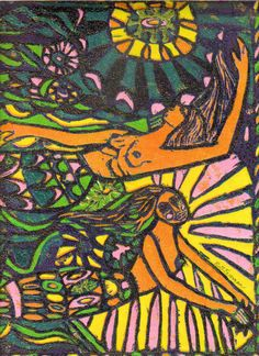 """Mermaids Fantasy"" by Ruth Freeman"