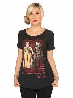 I probably need this.  Doctor Who Her Universe Portrait Girls T-Shirt | Hot Topic