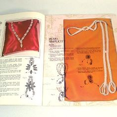 Jewelry Accessory Designs 1971 Beading Craft Pattern Booklet