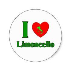 I Love Limoncello Sticker