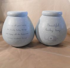 Pot of #dreams #ceramic #money box/ pot baby boy (51007), View more on the LINK: http://www.zeppy.io/product/gb/2/322406781471/