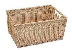 Buff Willow Wicker Storage Basket (L) Choice Baskets £18 http://www.amazon.co.uk/dp/B005E7QJ1I/ref=cm_sw_r_pi_dp_BY-jvb0477TET