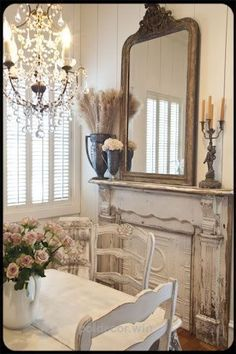 Shabby Chic home decor explanation reference 5487246776 to strive for a simply smashing, comfortable escape. Kindly press the web link immediately for brilliant clues. Decor, French Decor, Chic Kitchen, Painted Cottage, Chic Decor, Home Decor, Chic Bedroom, Shabby Chic Bedrooms, Faux Fireplace