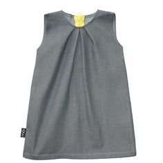 Moi grey denim dressOrganic Cotton
