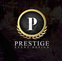 Prestige Event Design Logo created by DT Webdesigns