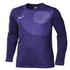 507d3532e62 Nike Park IV Goalie Game Jersey Purple