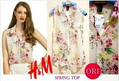 let's shop here : Fashionlicious: H&M spring top