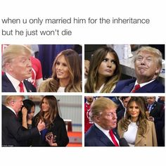 Trump and wife... ;)
