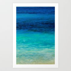 Buy SEA BEAUTY by Catspaws as a high quality Art Print. Worldwide shipping available at Society6.com. Just one of millions of products available.
