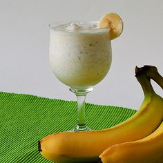 Banana Smoothie or bananas by itself is good