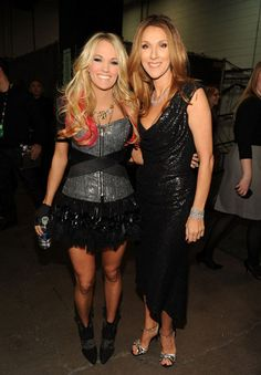 4/3/11 - Academy Of Country Music Awards - Backstage/Audience - carrie-underwood Photo