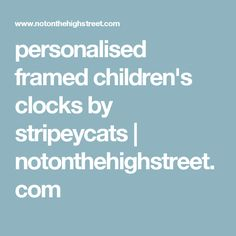 Personalised Robot Clock by StripeyCats, the perfect gift for Explore more unique gifts in our curated marketplace. World Clock, Personalised Frames, Name Day, Robot Design, Christening Gifts, Gifts For Boys, Clocks, Unique Gifts, Train