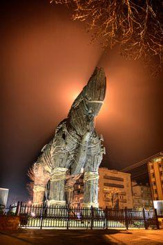Het houten paard uit de film Troy - Çanakkale