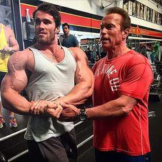 Arnold. Posing Tips.