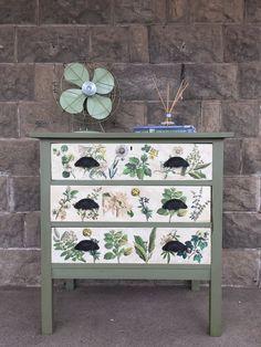Annie Sloan Image Transfer Dresser