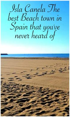Isla Canela is southern Spain near the Portugal Boarder and is the most beautiful beach town you have ever seen! Places Around The World, Travel Around The World, Around The Worlds, Travel Goals, Travel Tips, Travel Photos, Most Beautiful Beaches, Beautiful Places, Cadiz