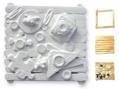 Art Projects for Kids: Louise Nevelson Found Sculpture. I use cardboard as a…