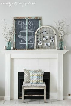 House by Hoff: A Winter Photo Display {It's $30 Thursday!}