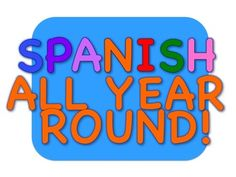 All Year Round contains 42 songs that will add a lot of fun to your Spanish class. It has songs that supports many of your units.