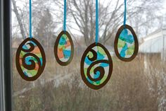 Goodbye city, Hello suburbs!: Easter Suncatchers
