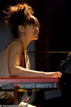 This woman is such an inspiration. Hiromi Uehara.