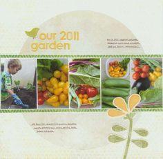 Layout: Our 2011 Garden