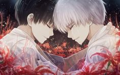 These red flowers (hopefully Tokyo Ghoul fans know what I'm talking about) are pretty much all over ...