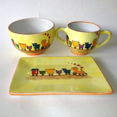 Children'S Train Pottery Peru | eBay