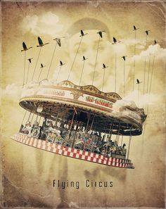 Flying Circus by crilleb50  #circus #steampunk