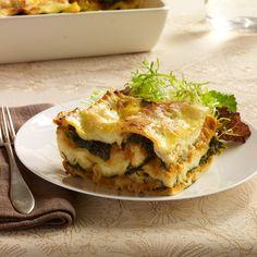 Pumpkin Lasagna with Ricotta and Swiss Chard