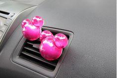Para um carro perfumado. Perfume para Carro do Mickey Fragrancia Floral lojacarrodebolso.com.br