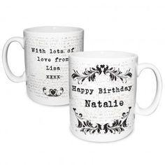 Personalised Vintage Mug